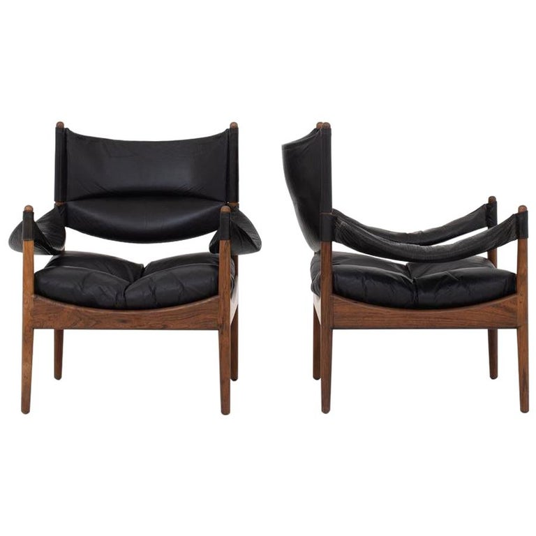 Set of Two Easy Chairs by Kristian Vedel
