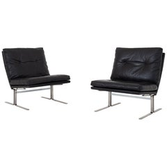 Set of Two Easy Chairs by Poul Nørreklit