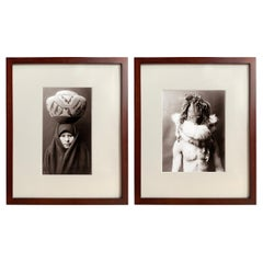 Set of Two Edward Curtis Prints