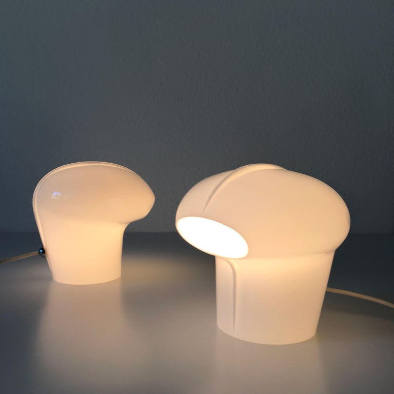 Set of Two Exceptional Table Lamps by Gino Vistosi for Vistosi, Murano, 1970s For Sale 3