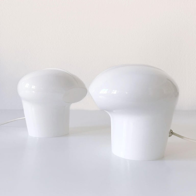 Set of Two Exceptional Table Lamps by Gino Vistosi for Vistosi, Murano, 1970s For Sale 6