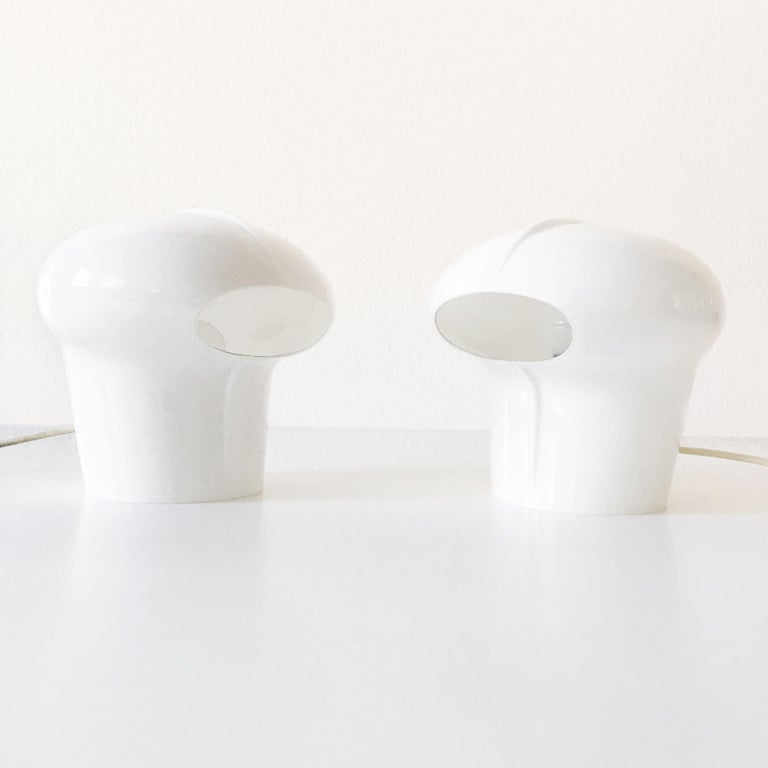 Set of Two Exceptional Table Lamps by Gino Vistosi for Vistosi, Murano, 1970s For Sale 7