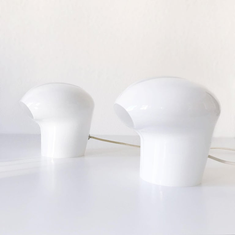 Set of Two Exceptional Table Lamps by Gino Vistosi for Vistosi, Murano, 1970s For Sale 12