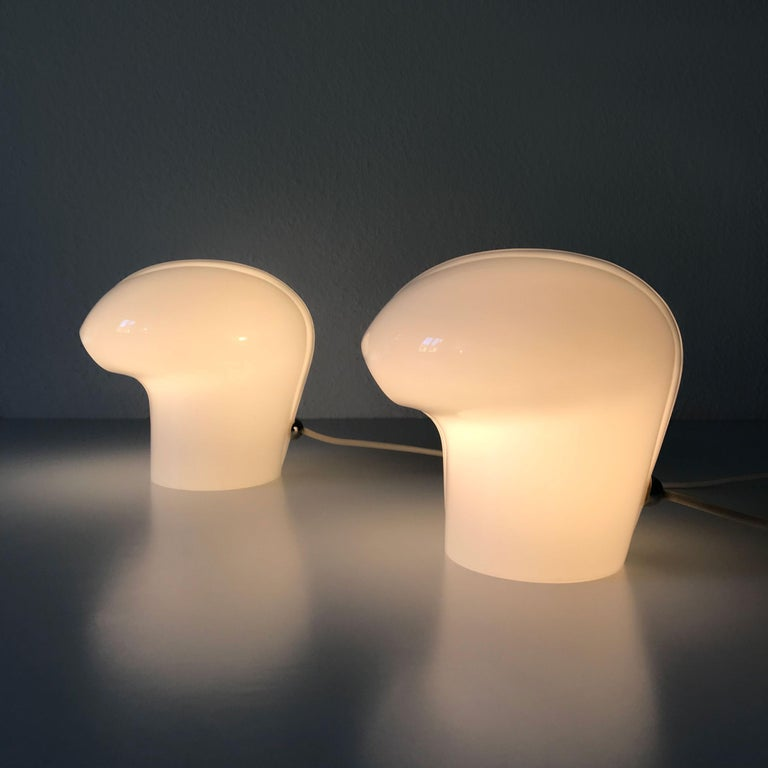 Set of Two Exceptional Table Lamps by Gino Vistosi for Vistosi, Murano, 1970s For Sale 13