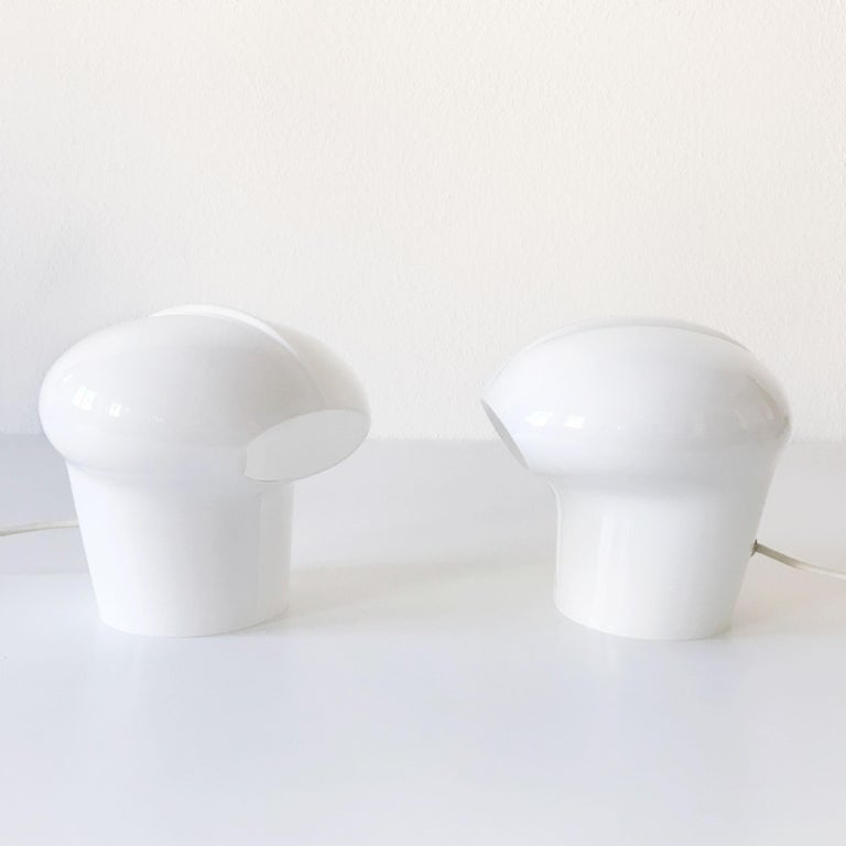 Set of Two Exceptional Table Lamps by Gino Vistosi for Vistosi, Murano, 1970s For Sale 2