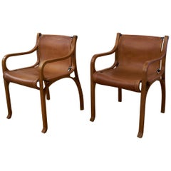 Set of Two Extraordinary Armchairs 'Chair B' by Cristián Valdés