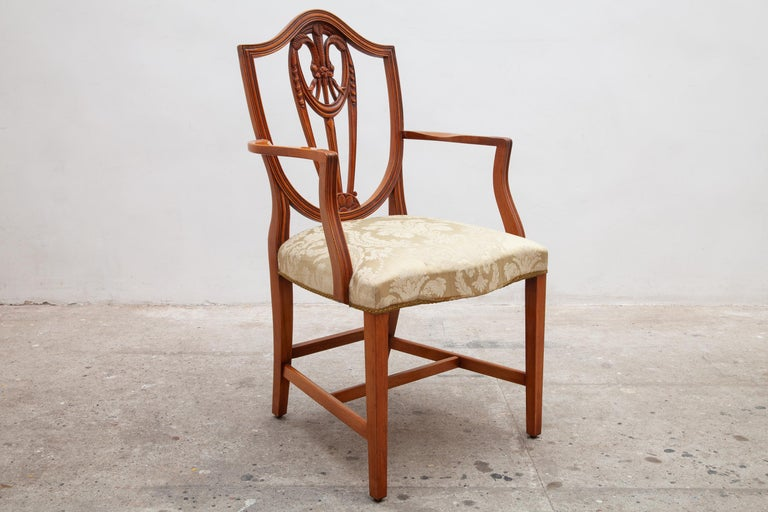 Set of Two Georgian Style Armchairs 2