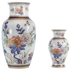 Set of Two German Kaiser Porcelain Vases