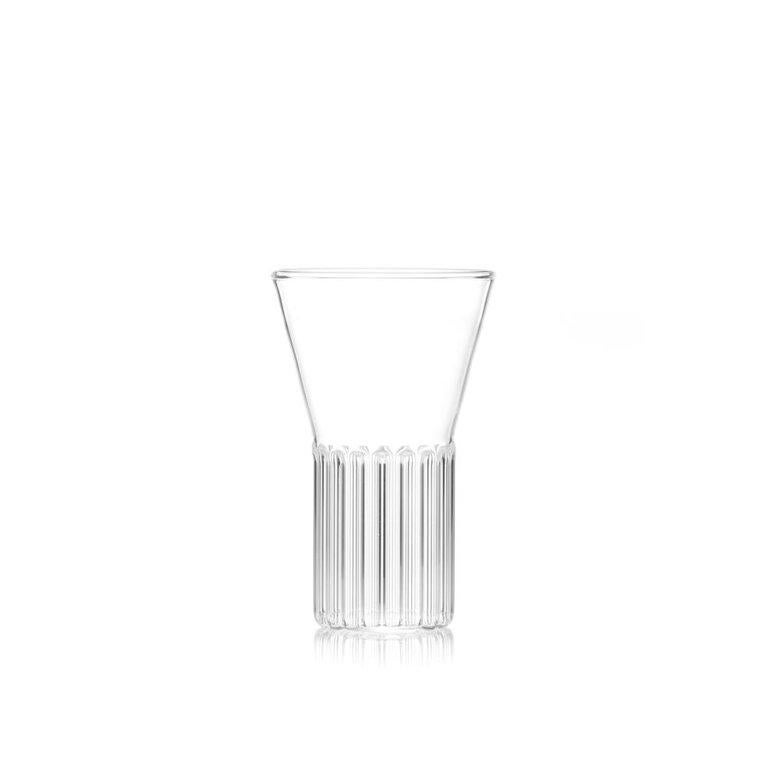 Modern EU Clients Set of 2 Handcrafted Czech Contemporary Rila Small Glasses, in Stock For Sale