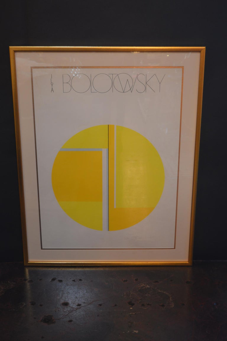 American Set of Two Ilya Bolotowsky Serigraphs For Sale
