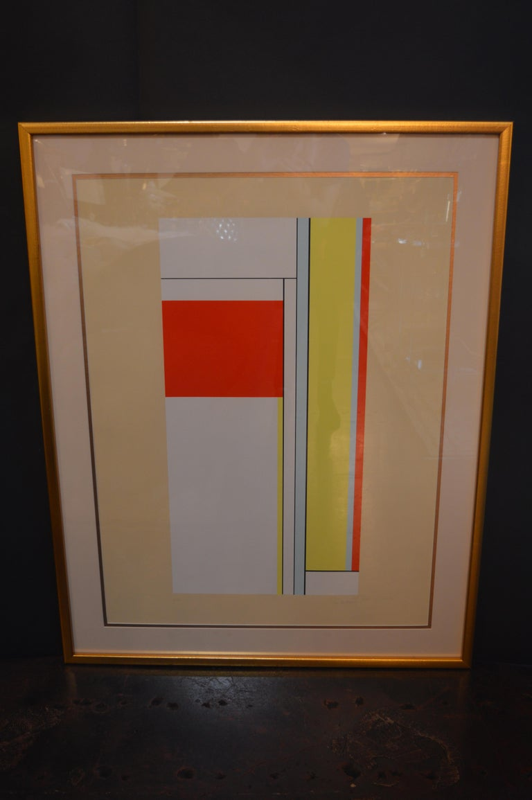 Set of Two Ilya Bolotowsky Serigraphs For Sale 2