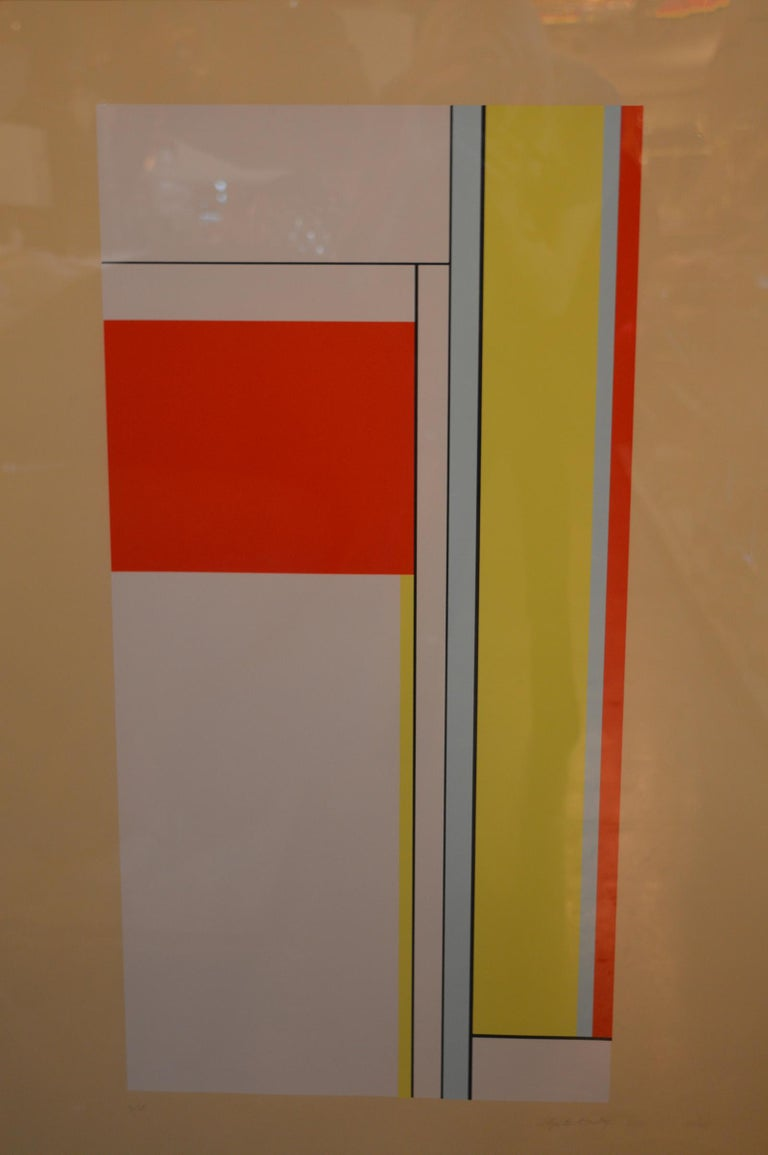 Set of Two Ilya Bolotowsky Serigraphs For Sale 4