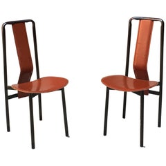 Set of Two Irma Chairs by Achille Castiglioni for Zanotta, 1979