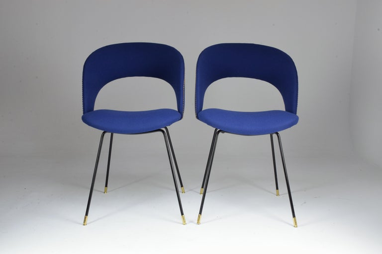 Set of Two Italian Chairs by Gastone Rinaldi for Rima, 1950s For Sale 2