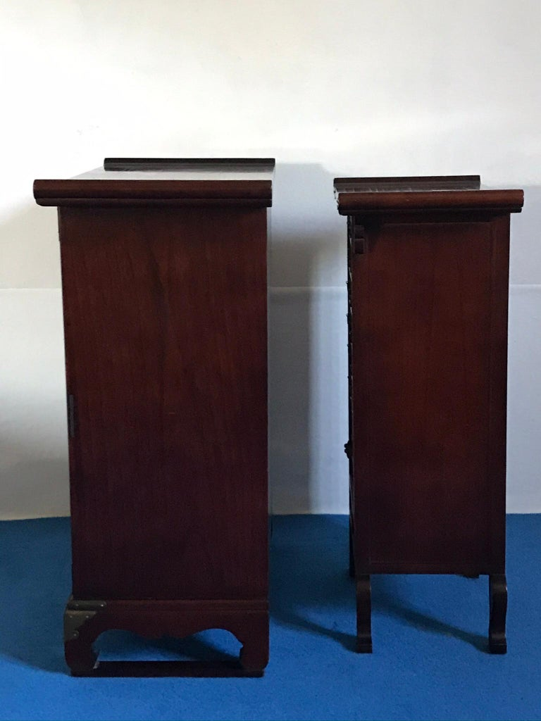 Wood Set of Two Japonese Cases,