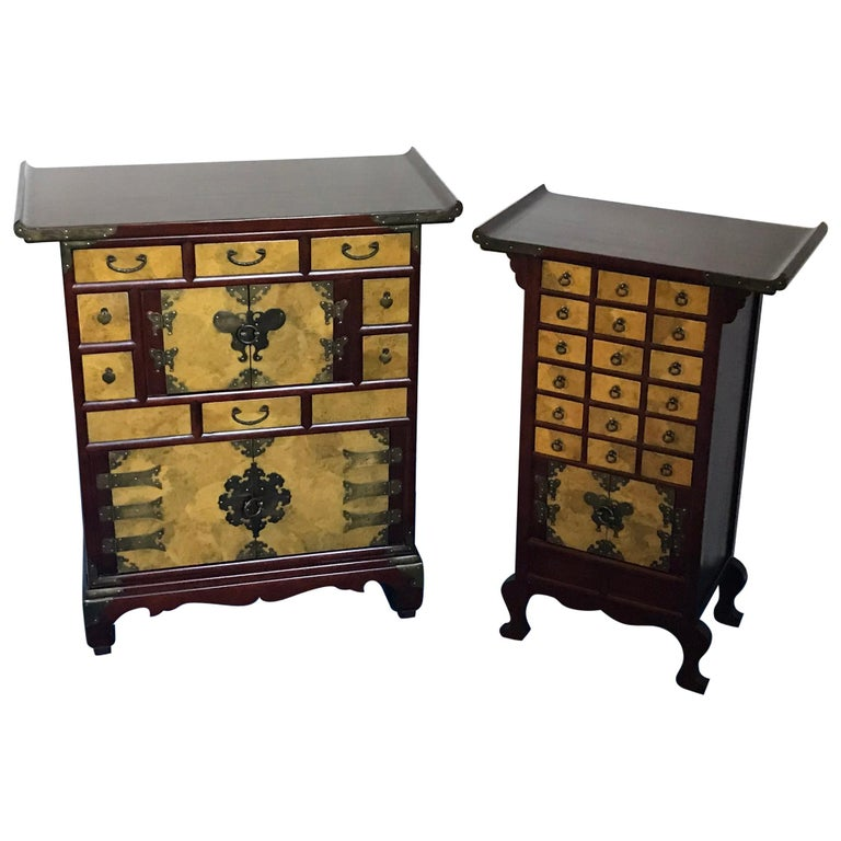 """Set of Two Japonese Cases, """"1960"""" For Sale"""