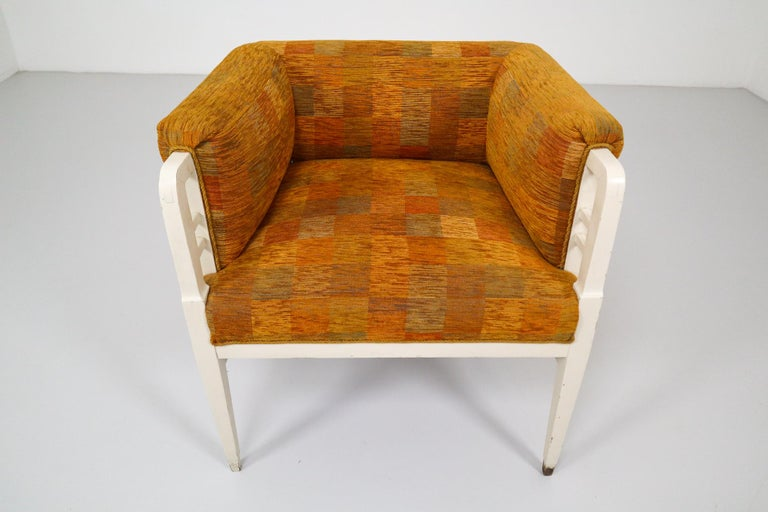 Early 20th Century Set of Two Jugendstil Armchairs, Vienna, 1910s For Sale