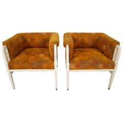 Set of Two Jugendstil Armchairs, Vienna, 1910s