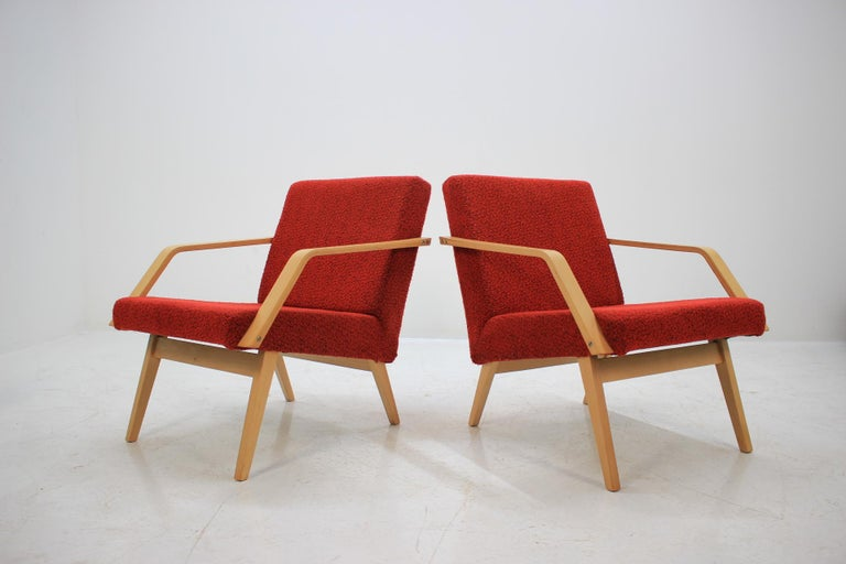 Set of Two Lounge Chair by Expo 58 Brusel, 1958's In Good Condition For Sale In Barcelona, ES