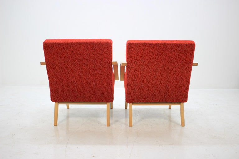 Set of Two Lounge Chair by Expo 58 Brusel, 1958's For Sale 1