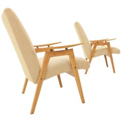 Set of Two Lounge Chair by Jaroslav Šmídek for Jitona, 1960s