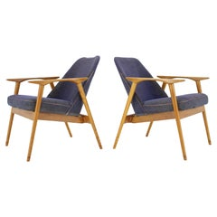 Set of Two Lounge Chairs Designed by Miroslav Navrátil, 1960s