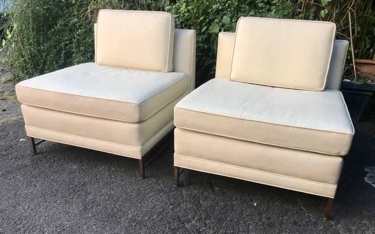 American Set of Two Lounge Chairs, Paul Mccobb for Calvin, 1960 For Sale