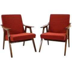 Set of Two Midcentury Armchairs, 1960s