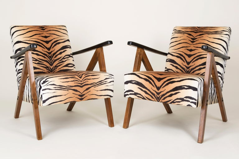 German chairs produced at the turn of the 1960s and 1970s. This is a limited edition and a part of