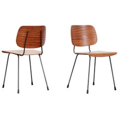 Set of Two Model 7004 Tjerk Reijenga Chairs by Pilastro