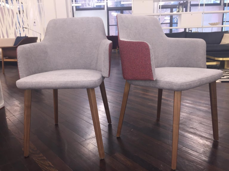 Set of Two Montis Back Me Up Armchairs 4