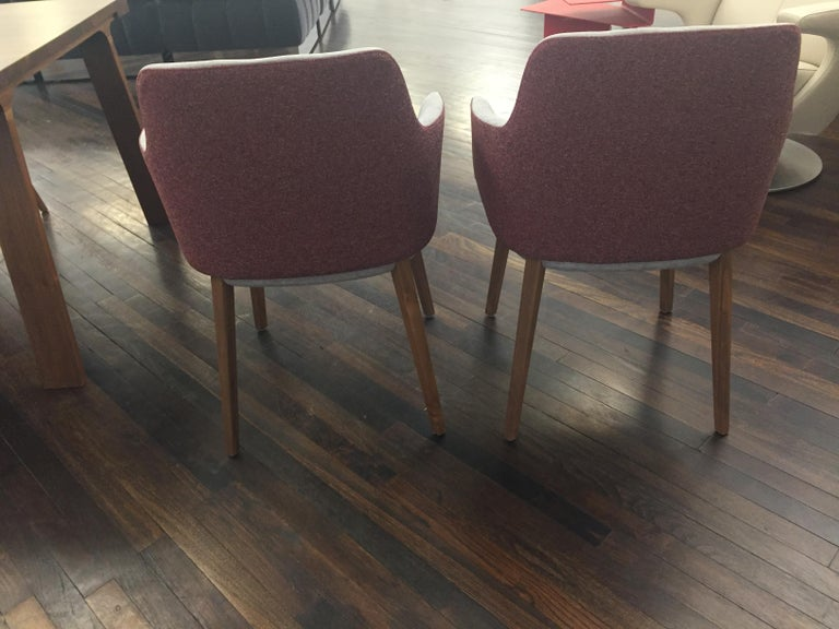Contemporary Set of Two Montis Back Me Up Armchairs