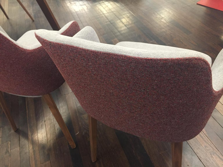 Fabric Set of Two Montis Back Me Up Armchairs