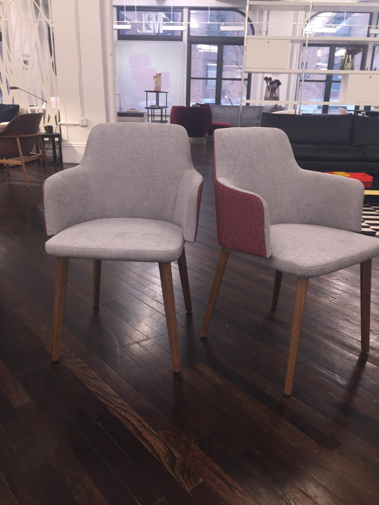 Set of Two Montis Back Me Up Armchairs 2