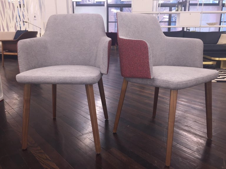 Set of Two Montis Back Me Up Armchairs 3