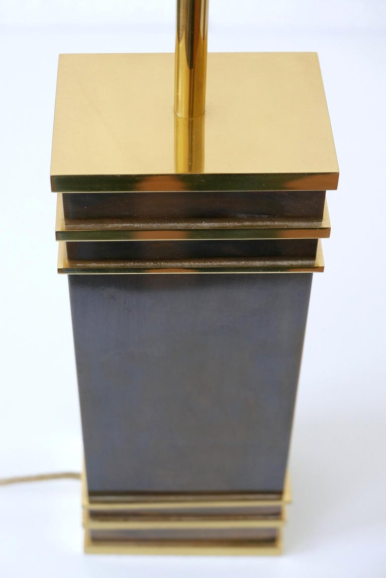 Set of Two Monumental Midcentury Table Lamps by Vereinigte Werkstätten, Germany For Sale 5