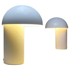 Set of Two Moonlight Table Lamps by Jørgen Møller for Royal Copenhagen