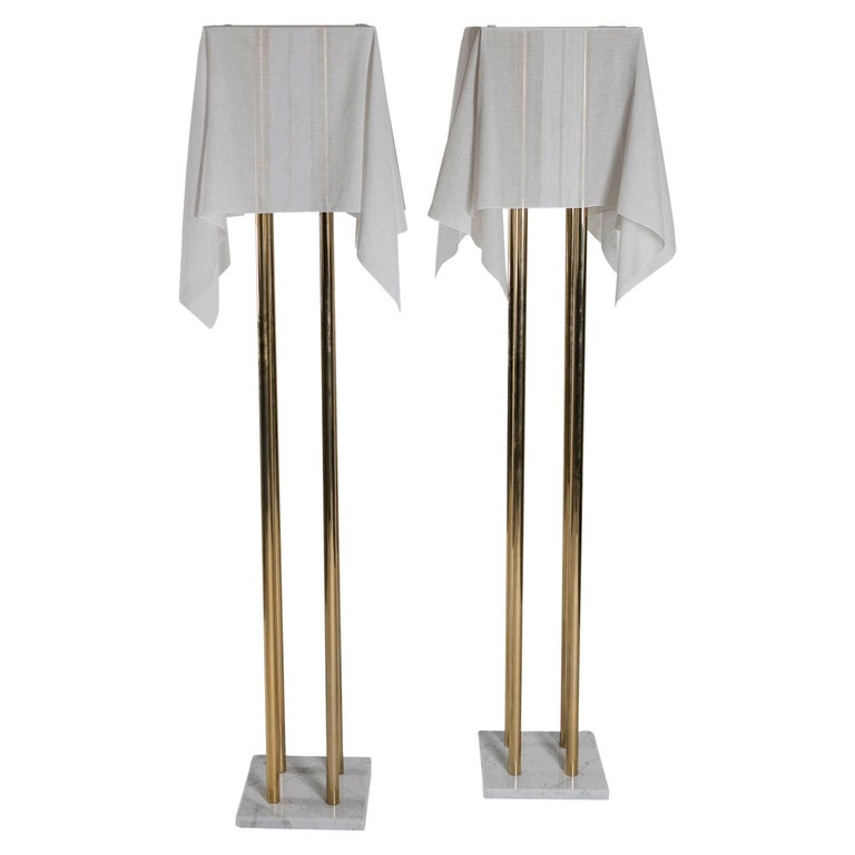 "Set of Two ""Nefer"" Floor Lamps by Kazuhide Takahama for Sirrah For Sale"
