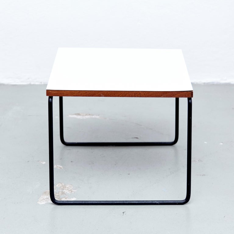 Set of Two Pierre Guariche Side Table for Steiner, circa 1950 3