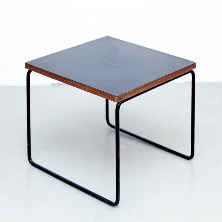 Set of Two Pierre Guariche Side Table for Steiner, circa 1950 5
