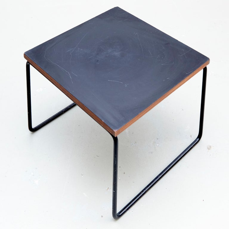 Set of Two Pierre Guariche Side Table for Steiner, circa 1950 6