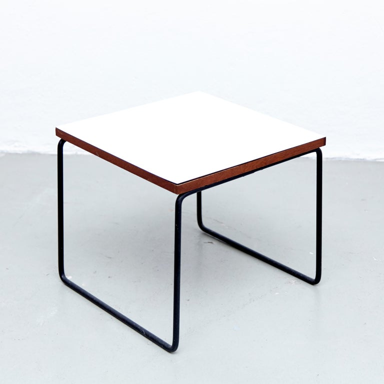 Set of Two Pierre Guariche Side Table for Steiner, circa 1950 2