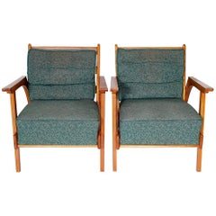 Set of Two Retro Armchairs, 1950s
