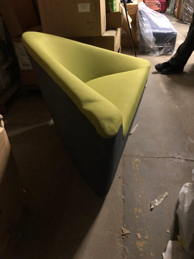Walter Knoll Set of Two Seating Stones in Fabric For Sale 3
