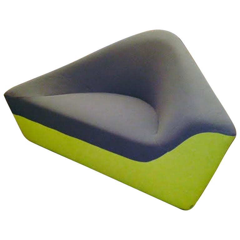 Walter Knoll Set of Two Seating Stones in Fabric For Sale