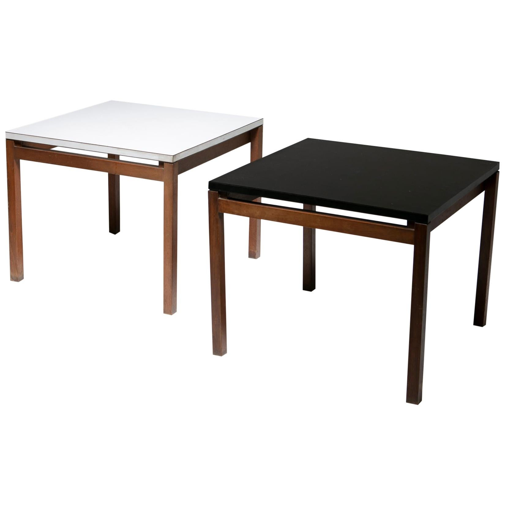 Set of Two Side Tables by Florence Knoll for Knoll