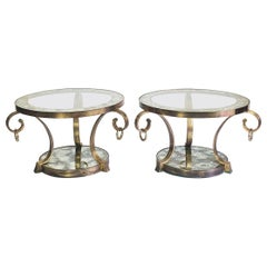 Set of Two Side Tables Designed by Arturo Pani