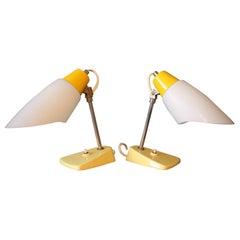 Set of two table lamp/Kamenický Šenov, 1960´s.