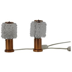 Set of Two Table Lamps by Kamenicky Senov, 1970s