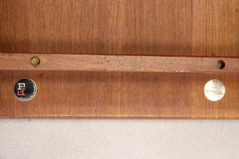 Scandinavian Modern Set of Two Teak Side Tables by Finn Juhl for France and Son Model 535